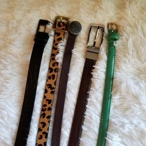 Target Skinny Belts |5 Pack | Size XXL